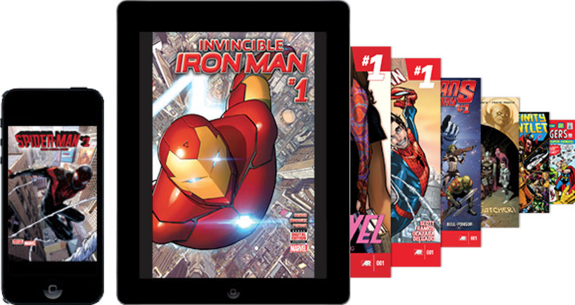 Marvel Unlimited Comics Subscription