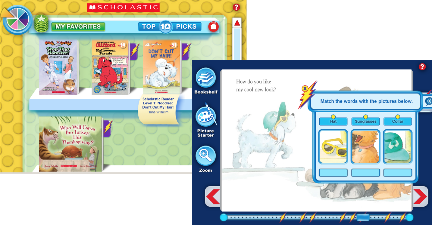 Scholastic Interactive eBooks